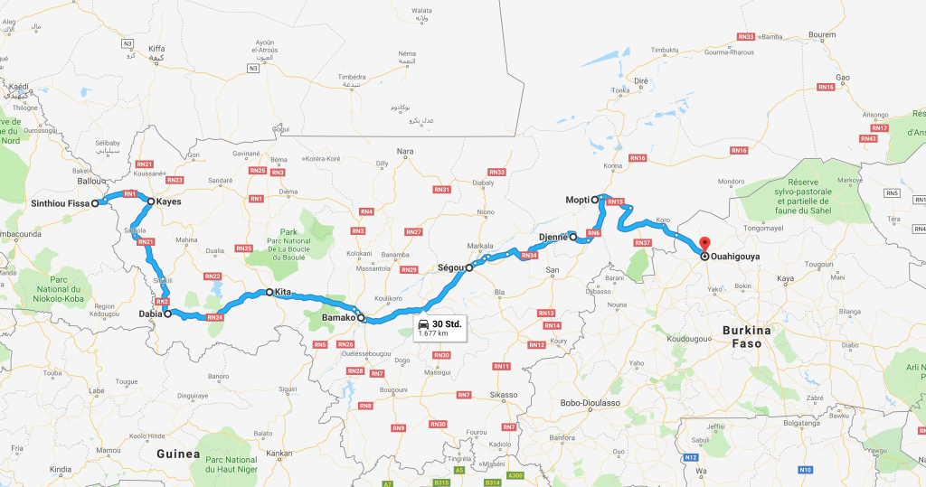 Mali - Africa Overland