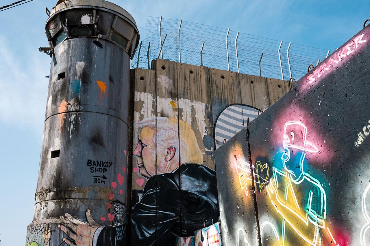 Banksy Hotel - Bethlehem - Palästina - Geschichten von unterwegs (12 von 103)