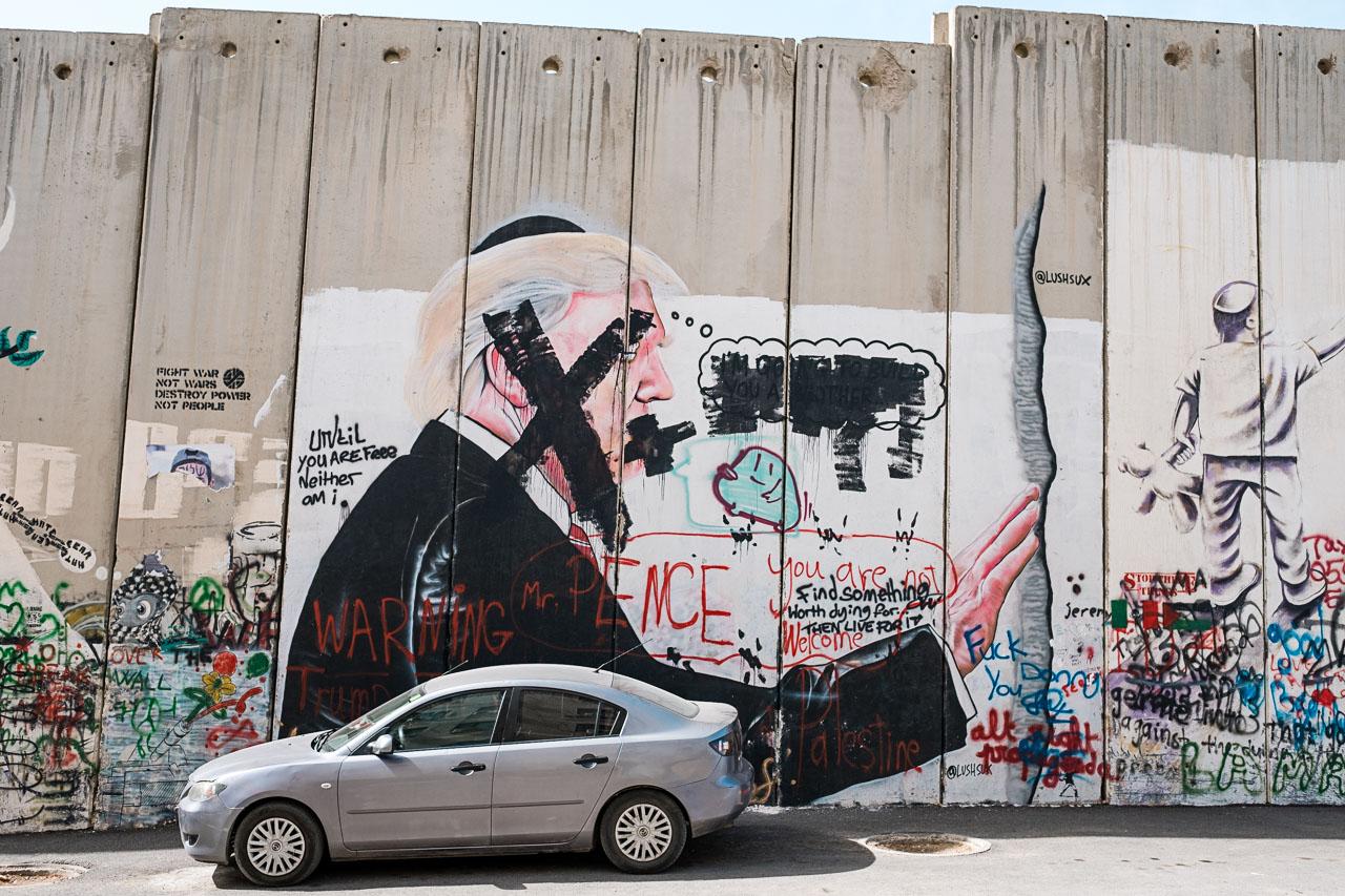 Banksy Hotel - Bethlehem - Palästina - Geschichten von unterwegs (13 von 103)