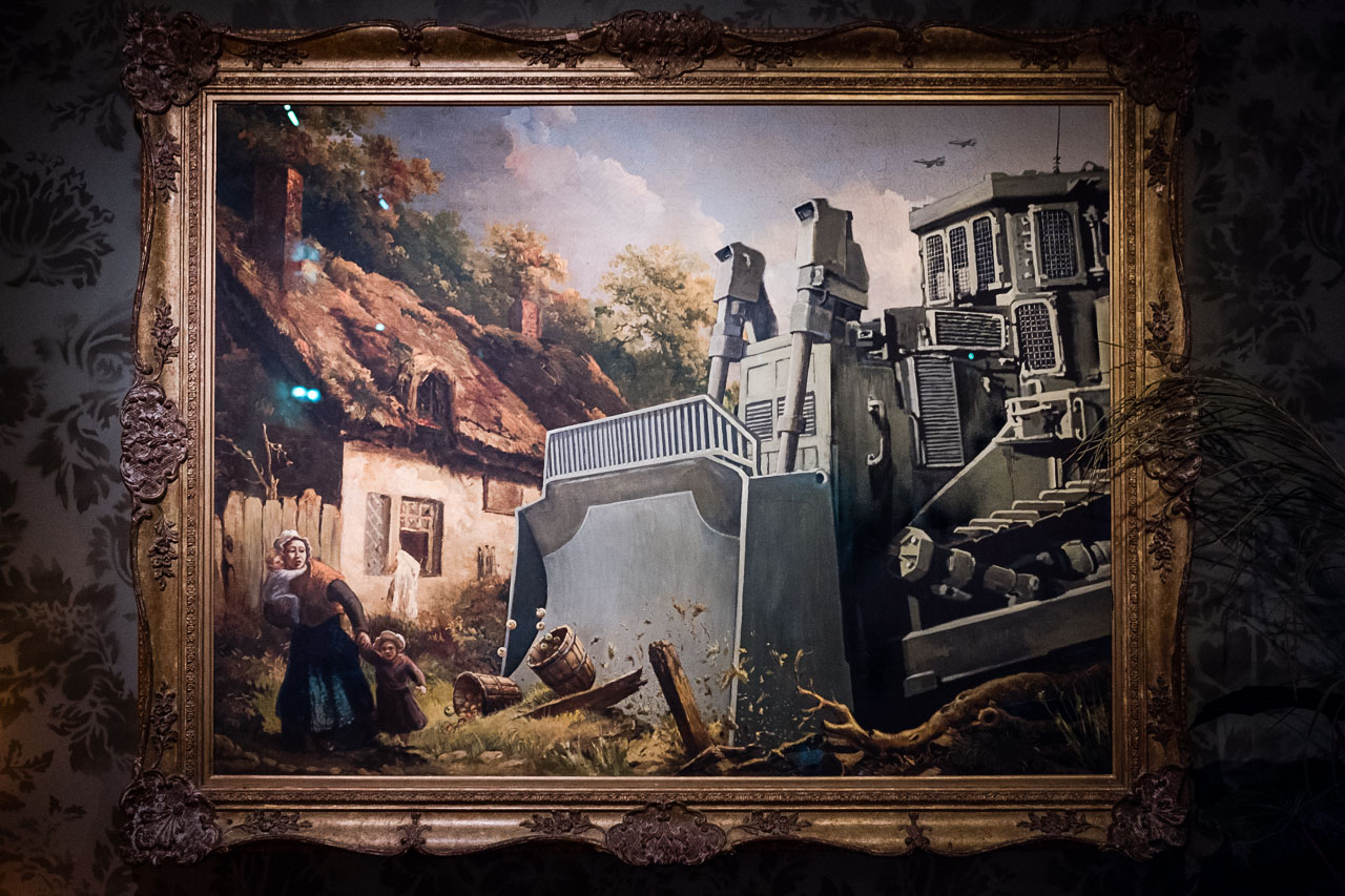 Banksy Hotel - Bethlehem - Palästina - Geschichten von unterwegs (21 von 103)