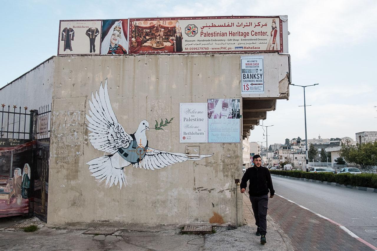 Banksy Hotel - Bethlehem - Palästina - Geschichten von unterwegs (32 von 103)