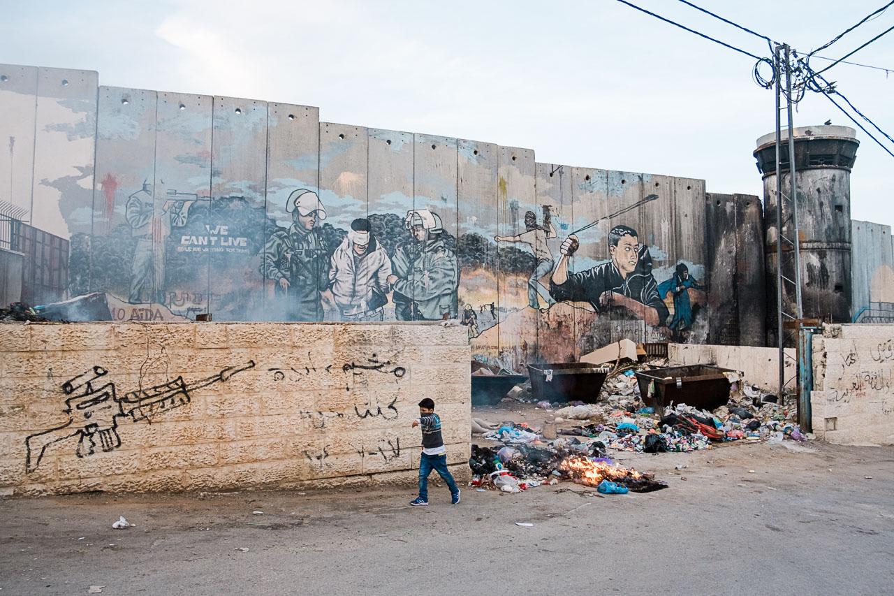 Banksy Hotel - Bethlehem - Palästina - Geschichten von unterwegs (37 von 103)
