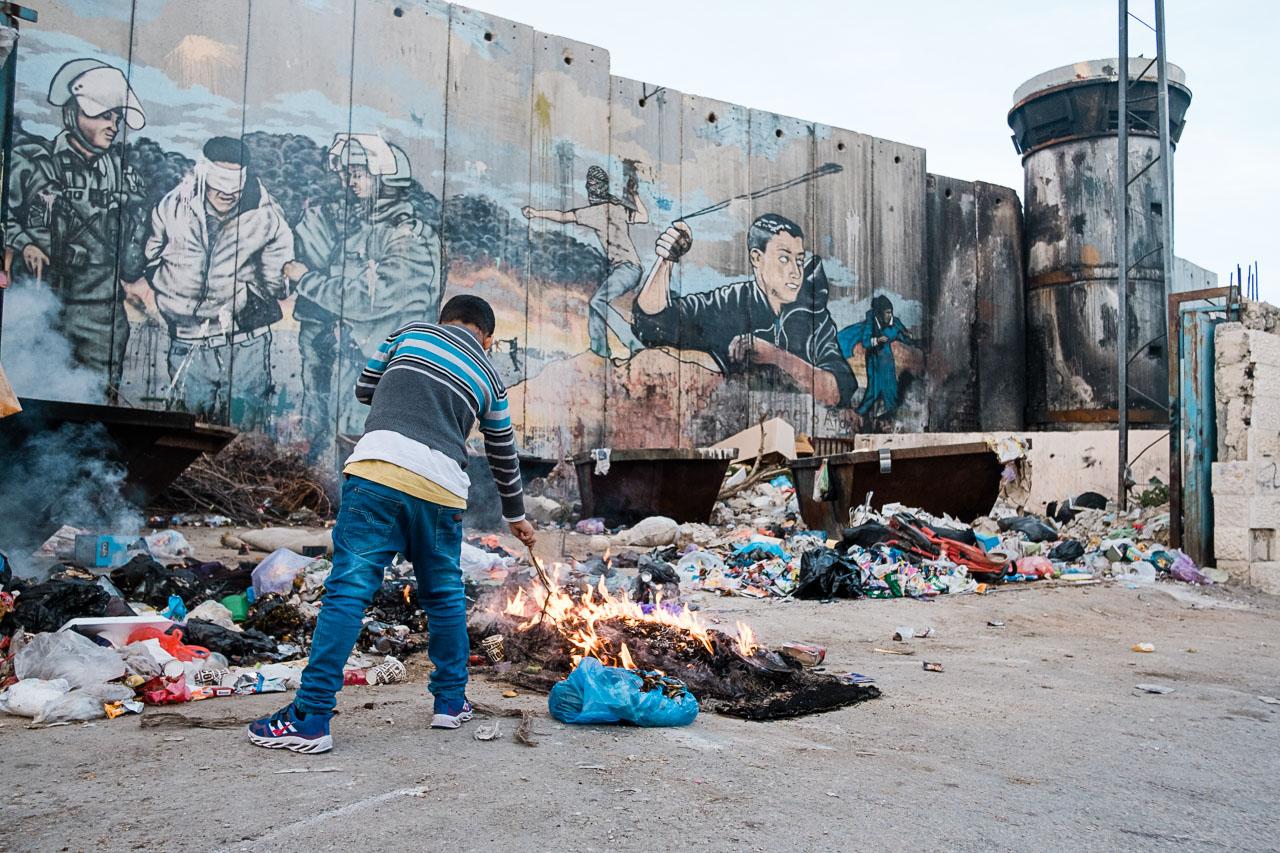 Banksy Hotel - Bethlehem - Palästina - Geschichten von unterwegs (38 von 103)