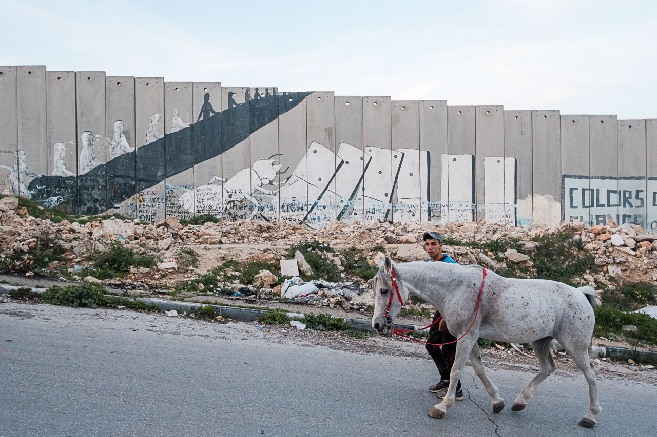 Banksy Hotel - Bethlehem - Palästina - Geschichten von unterwegs (40 von 103)