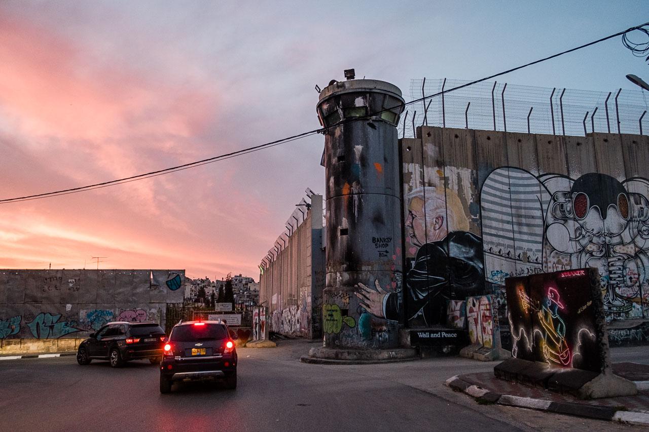 Banksy Hotel - Bethlehem - Palästina - Geschichten von unterwegs (44 von 103)