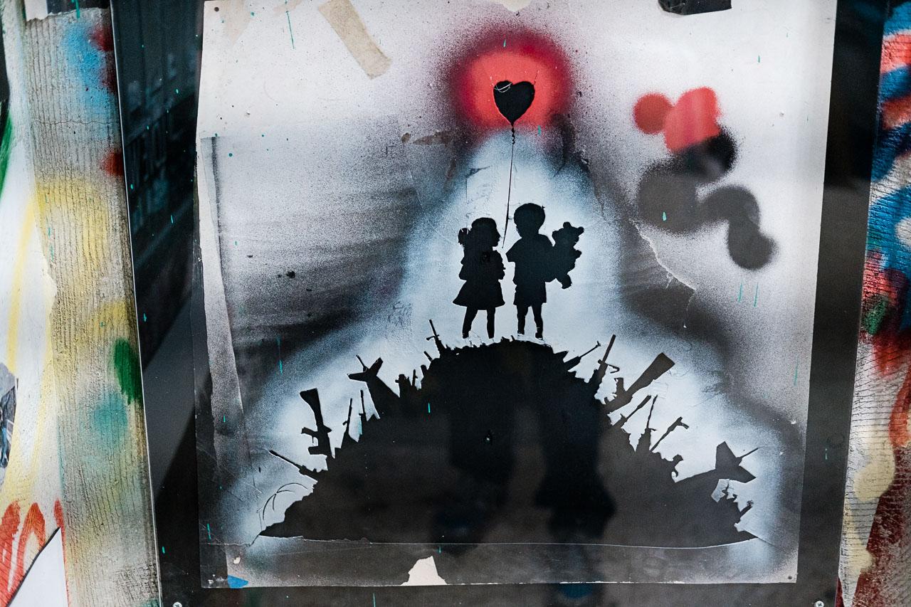 Banksy Hotel - Bethlehem - Palästina - Geschichten von unterwegs (88 von 103)