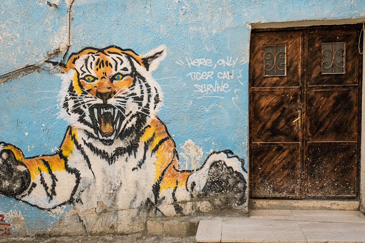 Banksy Hotel - Bethlehem - Palästina - Geschichten von unterwegs (97 von 103)