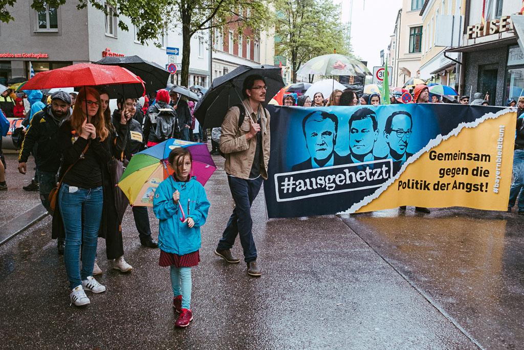 ausgehetzt Demo München - CSU - Seehofer - Söder - Demo - Human rights (102 von 48)