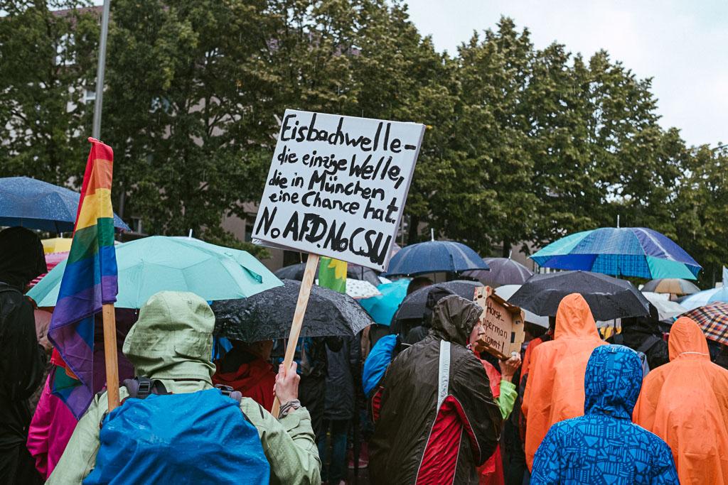 ausgehetzt Demo München - CSU - Seehofer - Söder - Demo - Human rights (118 von 48)