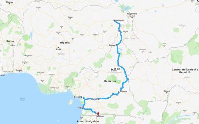 Einmal rund um Afrika – Teil 9 – Kamerun