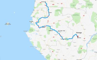 Einmal rund um Afrika – Teil 10 – Gabun