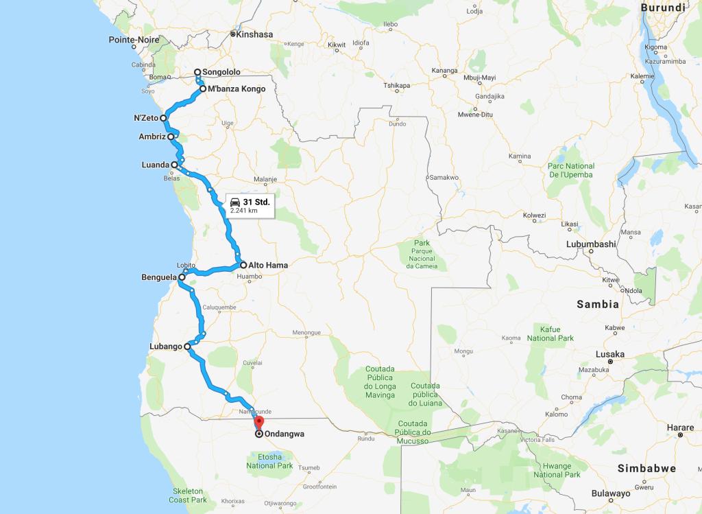 Angola-Afrika