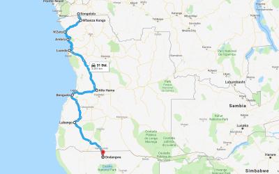 Einmal rund um Afrika – Teil 12 – Angola