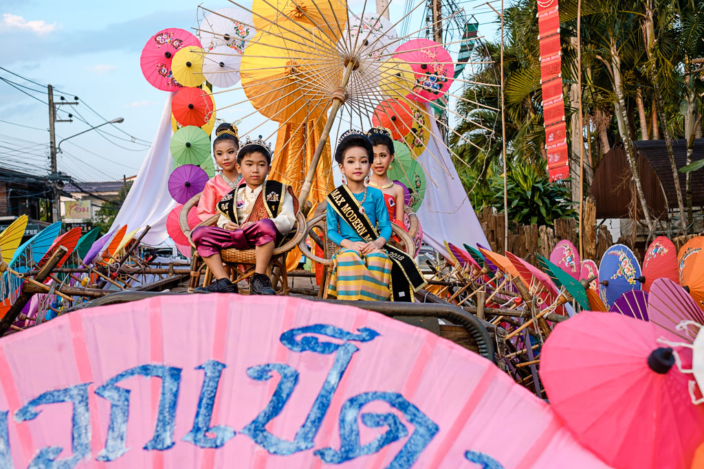 Bo Sang Umbrella Festival -28