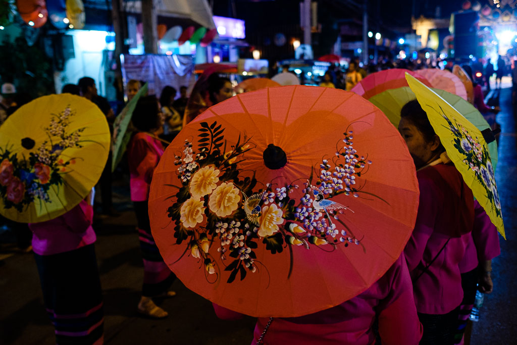 Bo Sang Umbrella Festival -52