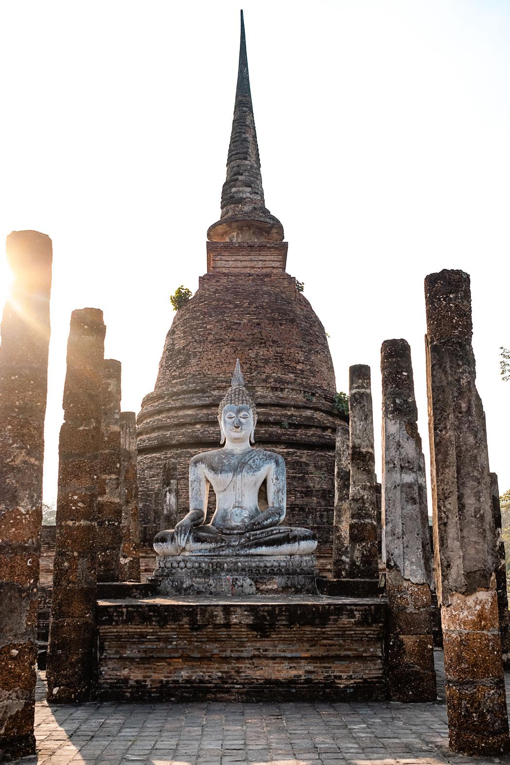 Old Sukhothai - Thailand - Geschichten von unterwegs-20