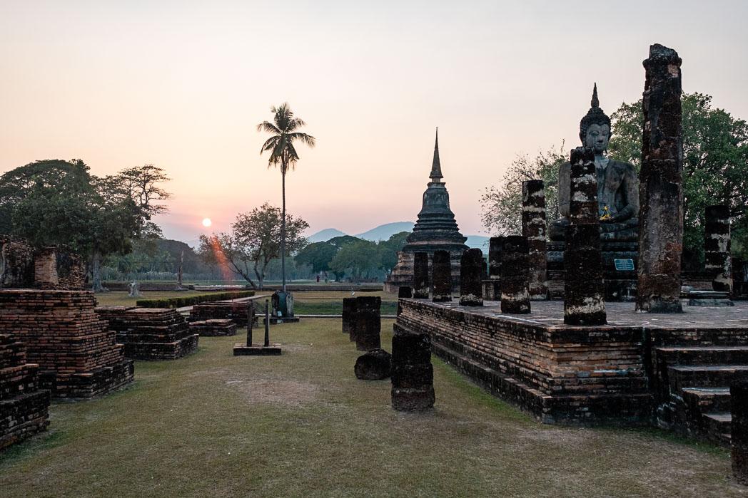 Old Sukhothai - Thailand - Geschichten von unterwegs-31