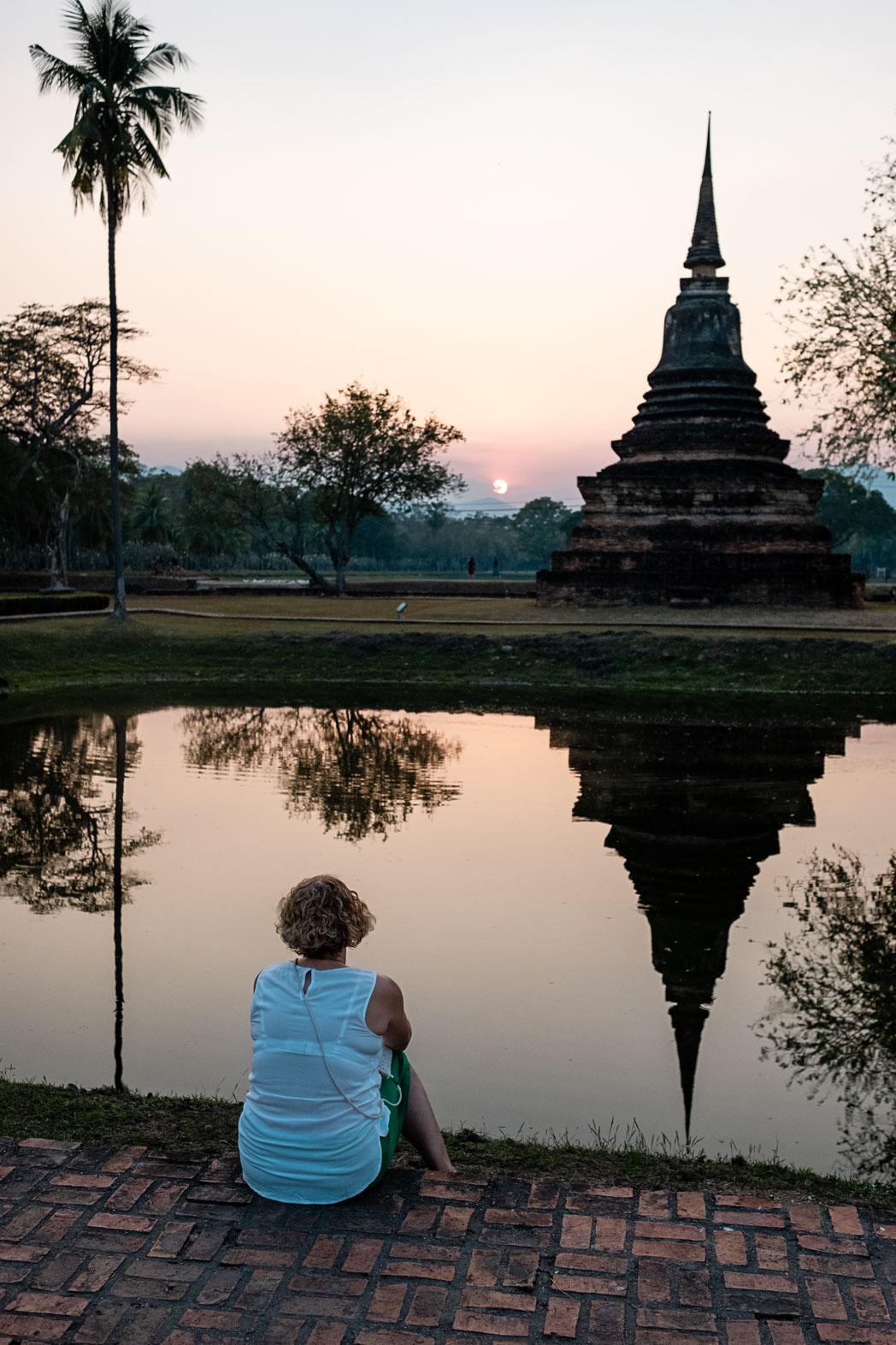 Old Sukhothai - Thailand - Geschichten von unterwegs-33