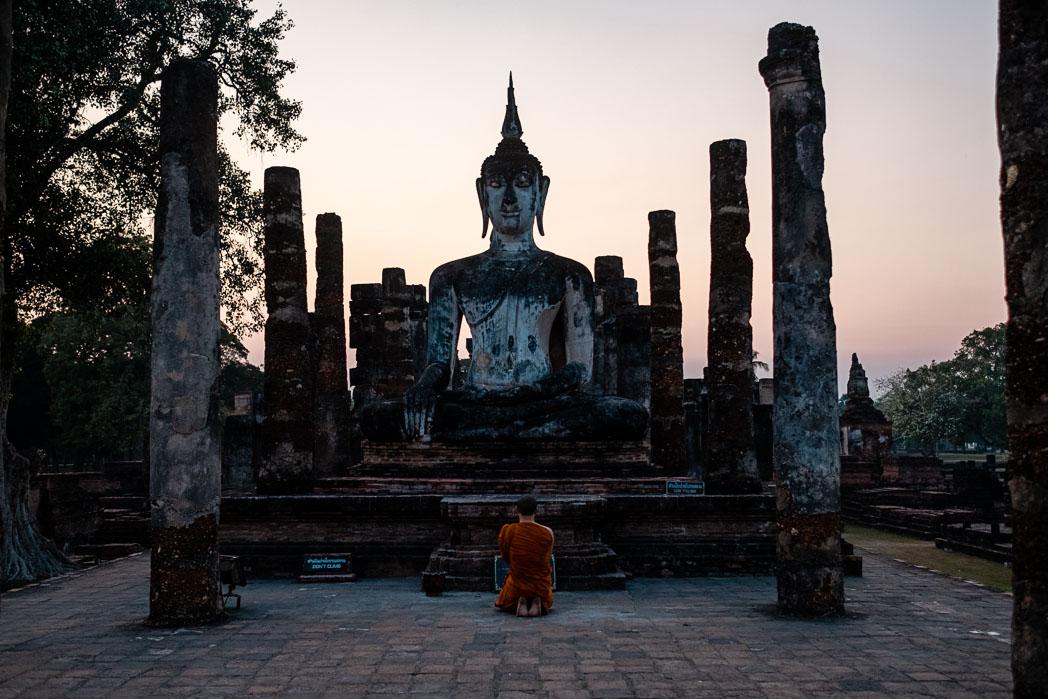 Old Sukhothai - Thailand - Geschichten von unterwegs-39