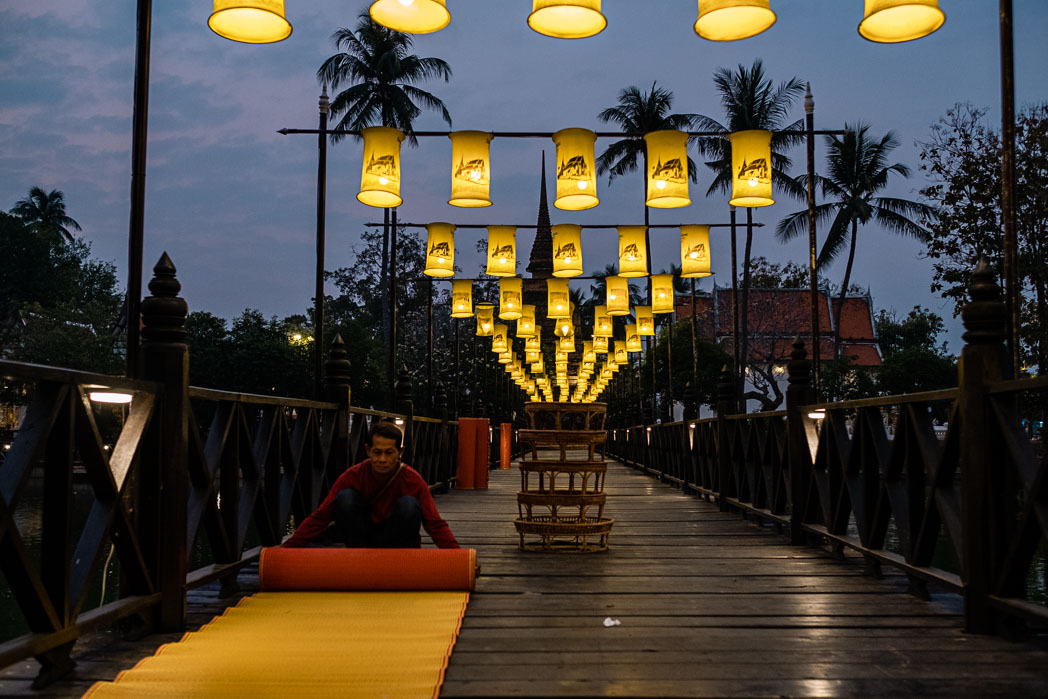 Old Sukhothai - Thailand - Geschichten von unterwegs-44