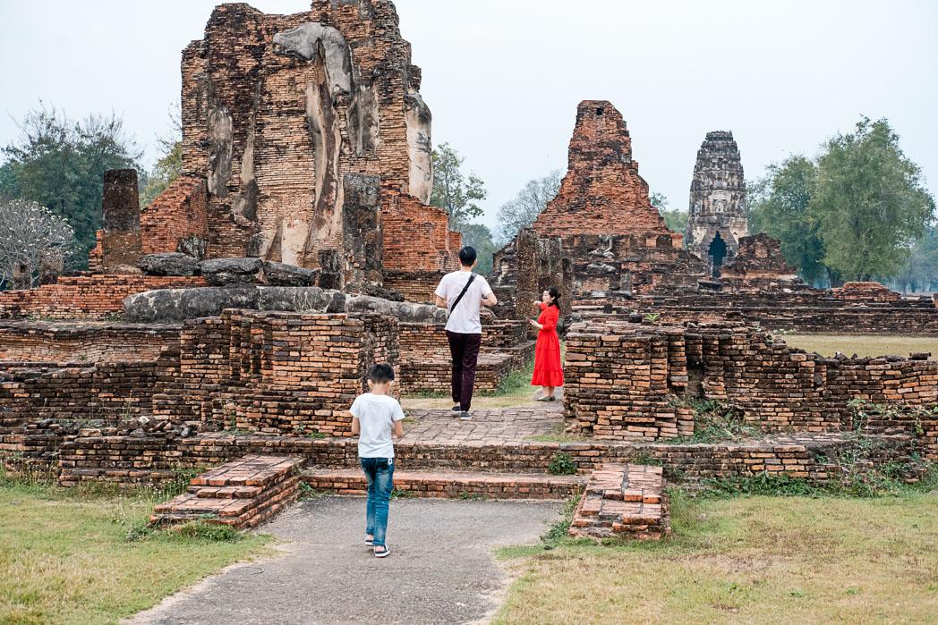 Old Sukhothai - Thailand - Geschichten von unterwegs-50