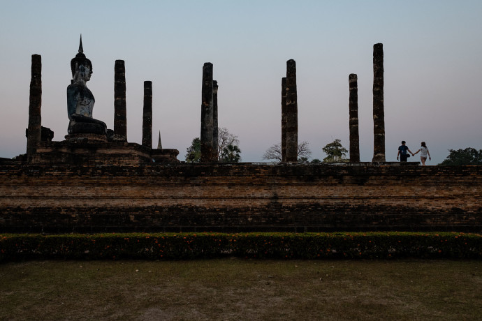Old Sukhothai - Thailand - titelbildunterwegs-100