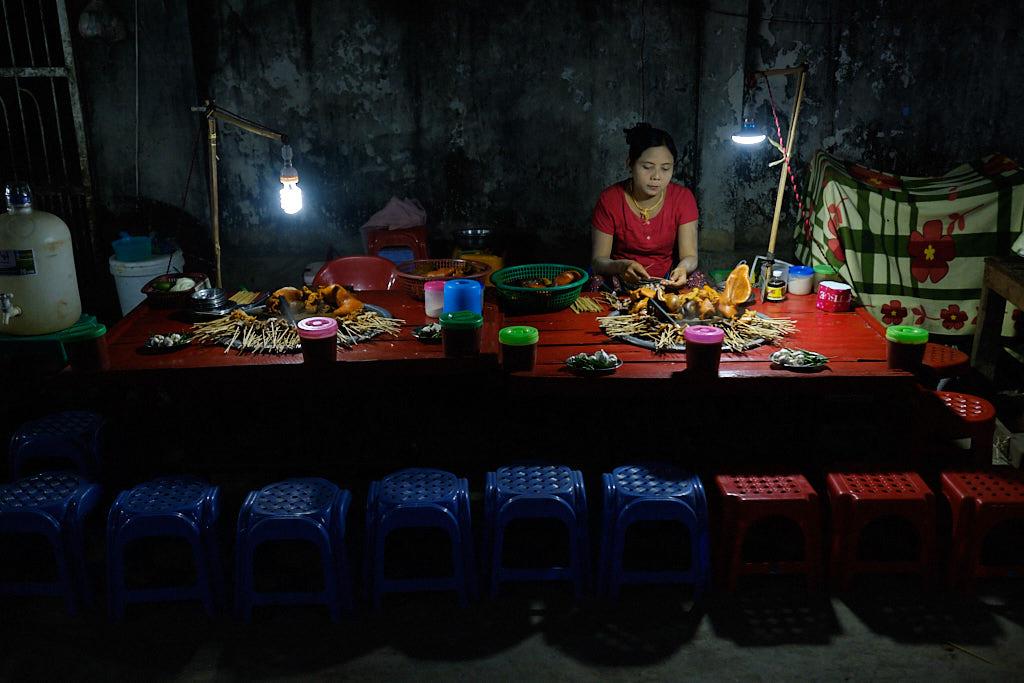 Hpaan-Myanmar-Geschichten von unterwegs 24
