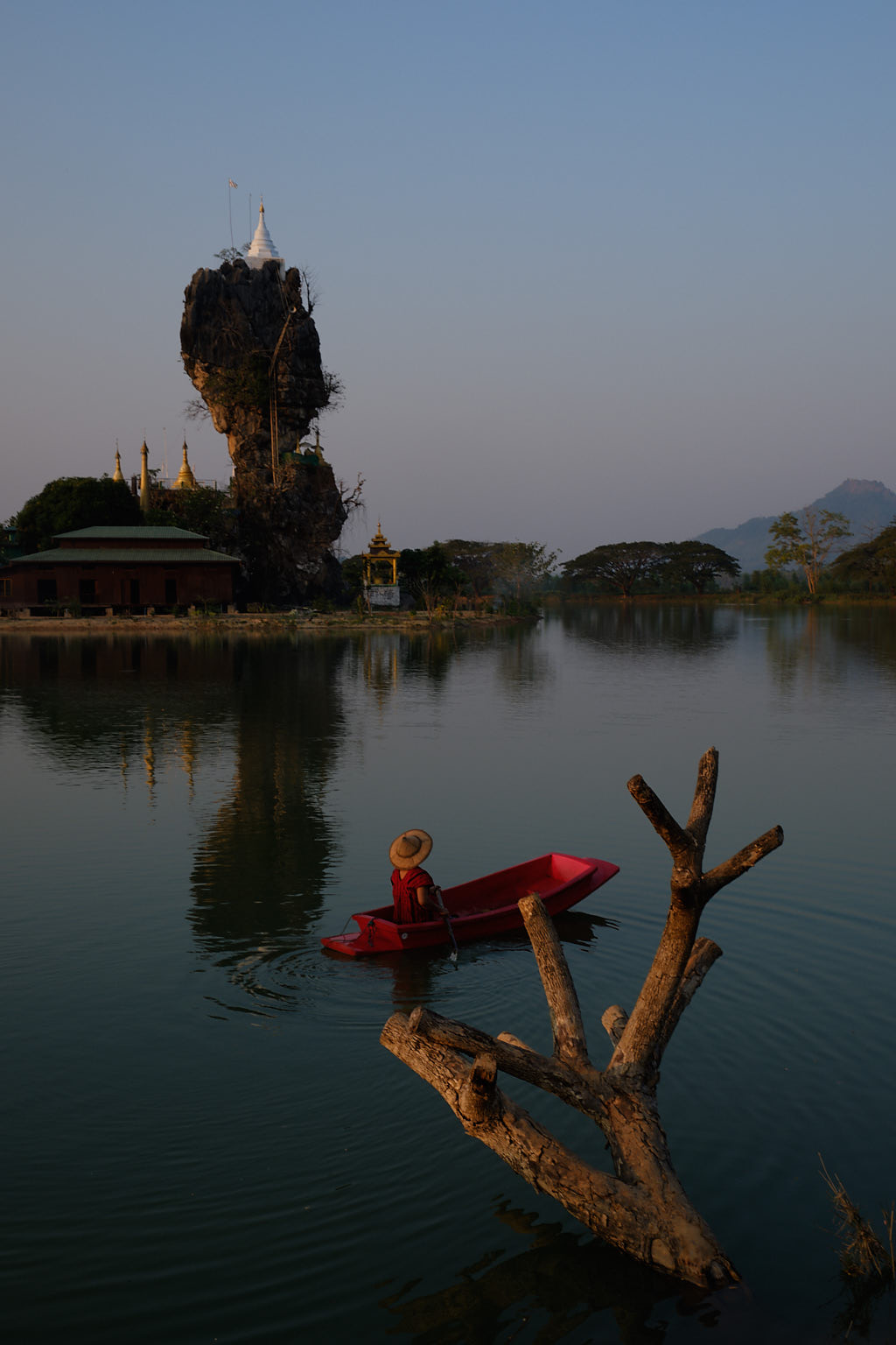 Hpaan-Myanmar-Geschichten von unterwegs