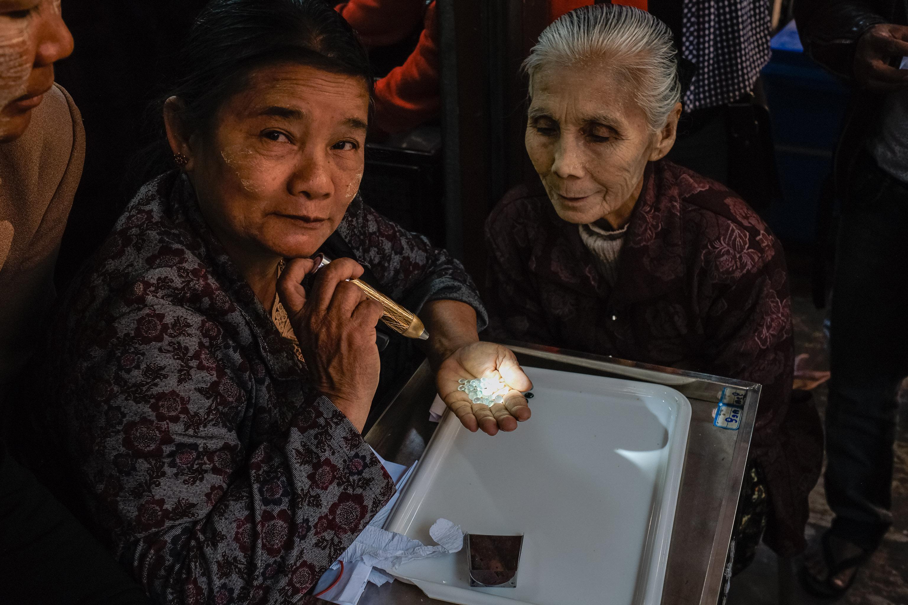Der Jade Markt in Mandalay - Myanmar