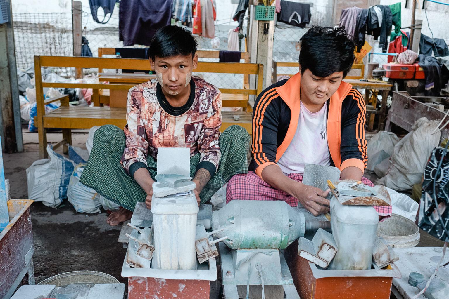 Jade Market Mandalay - Myanmar - Geschichten von unterwegs-10