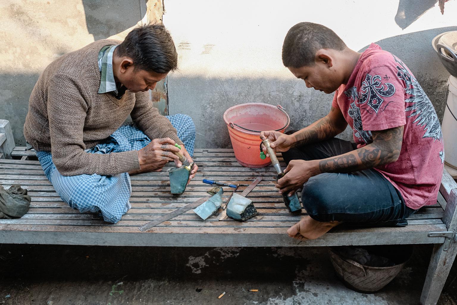 Jade Market Mandalay - Myanmar - Geschichten von unterwegs-11