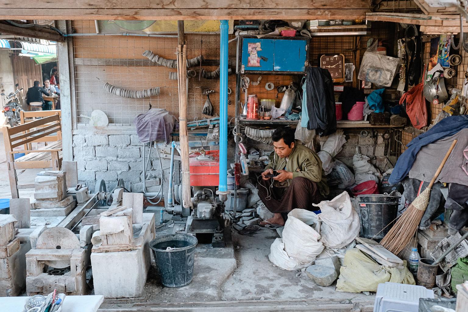 Jade Market Mandalay - Myanmar - Geschichten von unterwegs-9